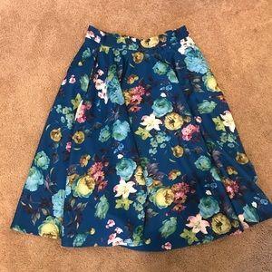 ASOS Floral Skirt